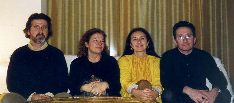 con Rosa y Broto