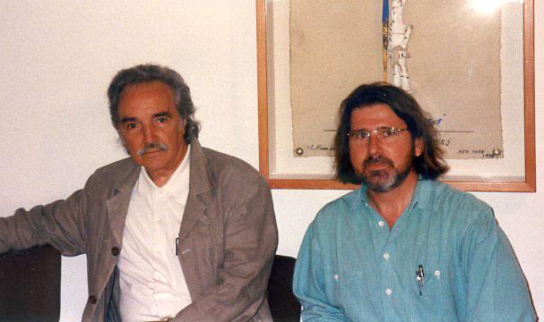 con Joan Barbará